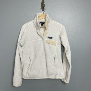 PATAGONIA Raw Linen Re-Tool Snap-T Fleece Pullover
